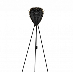 Lampa podłogowa Conia Mini black & gold